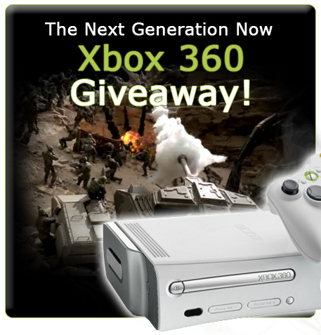 xbox 360 contests giveaways